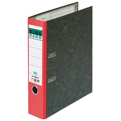 ELBA rado Wolkenmarmor Ordner rot marmoriert Karton 8,0 cm DIN A4