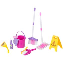 Spielzeug-Putz-Set für Kinder, 10-teilig