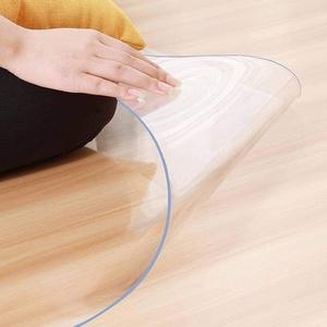 Ertex Stuhlunterlage Bodenschutzmatte Bürostuhlunterlage Bodenmatte 2,2mm 1 A Qualität Transparent Glasklar 100% (60 x 60 cm)