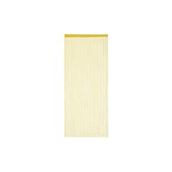 Fadenvorhang Fadenvorhang gold, relaxdays 90 cm x 245 cm