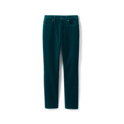 Slim Fit Samthose - S - Blau