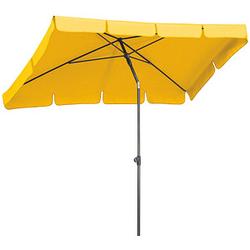 BEST Sonnenschirm La Gomera rechteckig gelb