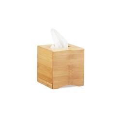 relaxdays Kosmetikbox Kosmetiktücherbox quadratisch