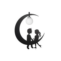 relaxdays Hängeleuchte Kinderzimmerlampe Mond