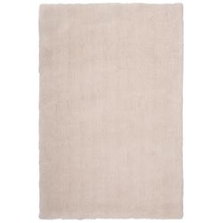 Weicher Mikrofaserteppich - Paradise (Creme; 60 x 110 cm)