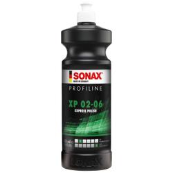 SONAX PROFILINE XP 02-06 Politur, Politur mit Versiegelung für die einstufige Behandlung, 1 Liter - Flasche