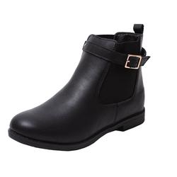 Zapato Stiefelette Mädchen Chelsea Stiefel Boots Winter Stiefel Biker Schuhe schwarz 28.5