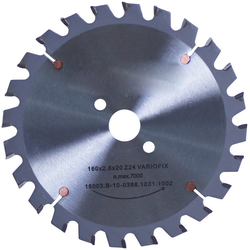 CONNEX Kreissägeblatt Tisch-/Handkreissägeblatt, HM, Ø 160 mm grau