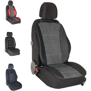 DBS - Autositzauflage - PKW/Auto - Grau - Großer Komfort - rutschfest - Kompatibel mit Airbag - Universal