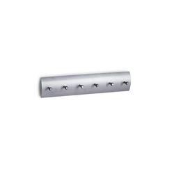 HTI-Living Schlüsselbrett Schlüsselboard Edelstahl/Aluminium