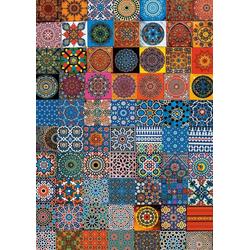 Piatnik Puzzle Farbenfrohe Kühlschrankmagnete, 1000 Puzzleteile