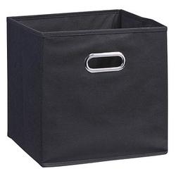 Zeller Aufbewahrungsbox 30,0 l schwarz 32,0 x 32,0 x 32,0 cm