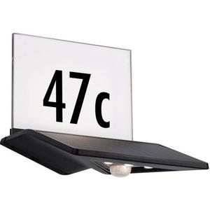 Paulmann Yoko 94243 Solar-Hausnummernleuchte mit Bewegungsmelder 1.2W Warmweiß Anthrazit