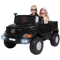 Actionbikes Motors Kinder Elektroauto Mercedes Benz Zetros, Lizenziert schwarz