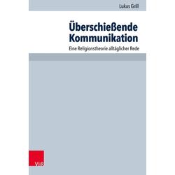 Überschießende Kommunikation als Buch von Lukas Grill