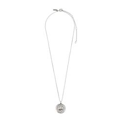 Pilgrim Damen Halskette 'Taurus Zodiac Sign' silber, Größe One Size, 4862014