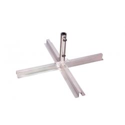 Doppler Edelstahl Plattenständer für Sonnenschirme, verstellbar ( DP )