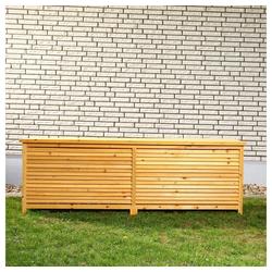 Mucola Auflagenbox Auflagenbox 170CM Kissenbox Holz Gartenbox Gartentruhe Holztruhe