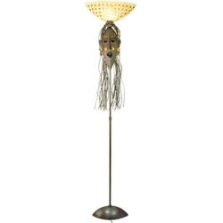 Guru-Shop Stehlampe Stehleuchte, exotische Leuchte aus..