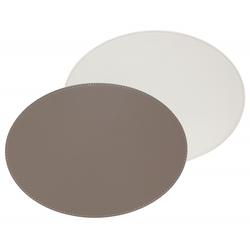 Tischsets FREEFORM taupe/weiß(LBH 45x34x1 cm) Freefrom