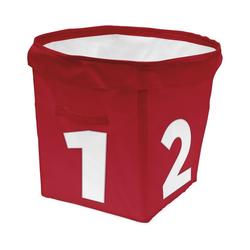 ACHOKA® Aufbewahrungsbox Aufbewahrungsbox Tube - rot rot