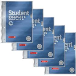 BRUNNEN 5 BRUNNEN Collegeblöcke Student Premium DIN A4 liniert