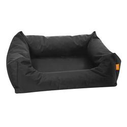 Hundebett Dreambay Eckig, 120 x 98 x 28 cm / 14 cm, schwarz