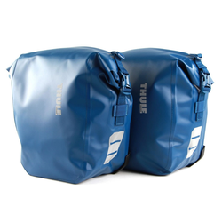 Thule Fahrradtasche (Set, 2-tlg) blau 40 cm x 28 cm x 15 cm