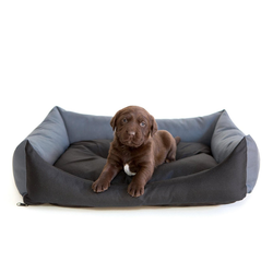 Hobbydog Tierbett Hundebett Eco grau 43 cm x 62 cm