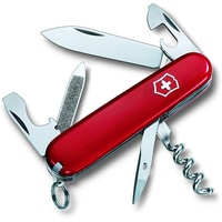 Victorinox Sportsman Multi-Tool-Messer Rot, Edelstahl
