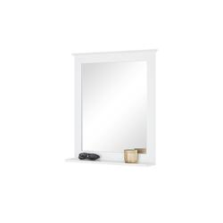 uno Spiegel mit Ablage  Königssee ¦ weiß