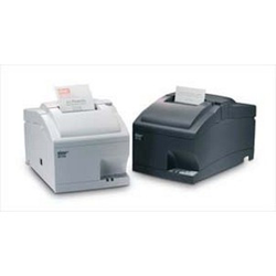 SP712 - Bon-Nadel-Drucker, RS232, dunkelgrau, mit Abrisskante, Mono- und Rot/Schwarz