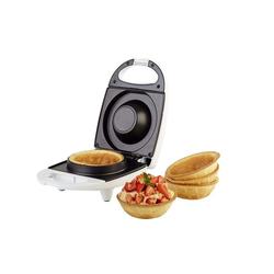 KORONA Cupcake-Maker Waffelcup-Maker 41010, 520 W, Waffelkörbchen / Waffelschälchen / Waffelcup ca. 10 cm Durchmesser, Waffeleisen, Waffel Toaster, weiß, 520 Watt
