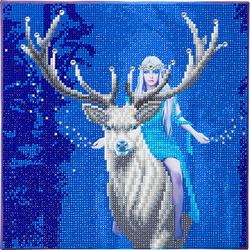 Crystal Art Fantasiewald, 30 x 30 cm Kristallkunst-Kit ANNE STOKES