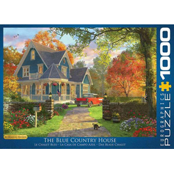 Eurographics 6000-0978 - Das blaue Landhaus von Dominic Davison, Puzzle