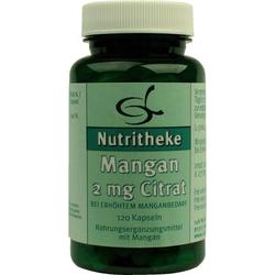 Mangan 2 mg Citrat