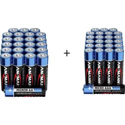 Ansmann Batterie-Set 48St.
