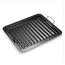 esyBe Backblech Grillpfanne, 30CM * 25CM Haushaltsgrillpfanne, Gartengrillzubehör, Grillpfanne zum Grillen von Steak, Grill- oder Partyzubehör mit Grill