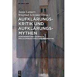Aufklärungs-Kritik und Aufklärungs-Mythen - Buch