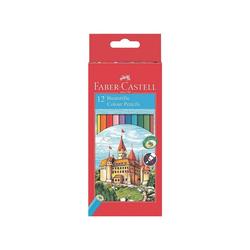 Faber-Castell Buntstift Castle, (Castle, 12-tlg), permanent bunt