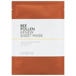Missha Bee Pollen Renew Sheet Mask Tuchmaske 25ml