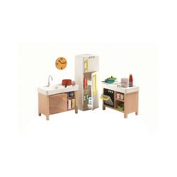 DJECO Puppenhausmöbel Puppenhaus - Küche