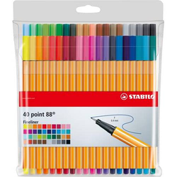 Fineliner point 88 Etui mit 40 Stiften