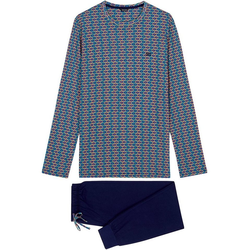 Hom Pyjama Long Sleepwear 'Pop Art' (1 tlg) 2XL