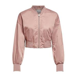 ONLY Cropped Bomber Jacke Damen Pink Female L