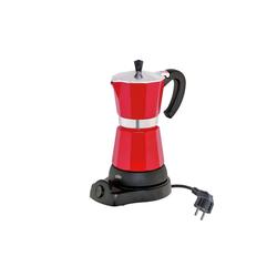 Cilio Espressokocher Elektrischer Espressokocher CLASSICO rot