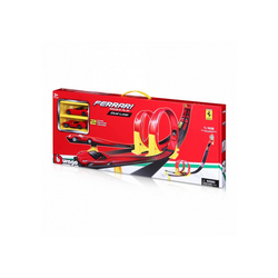 Bburago Spielzeug-Auto Bburago Ferrari Dual Loop inkl. 2 Autos, Doppel-Looping