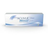 Acuvue MOIST 1-Day Tageslinsen für empfindliche Augen & Allergiker – Tageskontaktlinsen mit -1,75 dpt und BC 8.5 – UV Schutz & hoher Tragekomfort – 30 Linsen