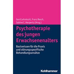 Psychotherapie des jungen Erwachsenenalters: eBook von