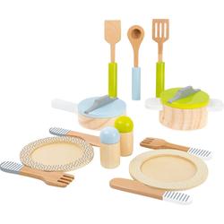 Small Foot Kinder-Küchenset Kinderküchenset Geschirr-und Topfset, (13-tlg)